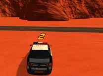 Politia in Desert