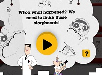 Fetitele Powerpuff Storyboard