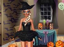 Printesa de Gheata Pregatiri de Halloween