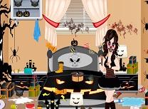 Printesa de Halloween Curatenie in Dormitor