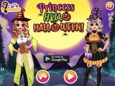 Printesa Salut Halloween