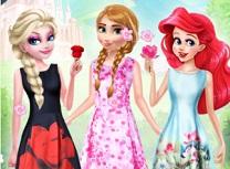 Printese Disney Fashion cu Flori