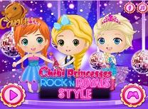 Printese Bebelus Stilul Rock N Royals