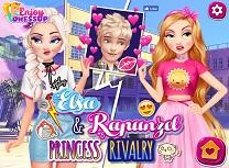 Elsa si Rapunzel Printese Rivale