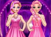 Rapunzel si Anna Stilul Roz