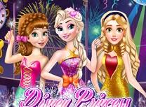 Printese Disney Banchet de Anul Nou