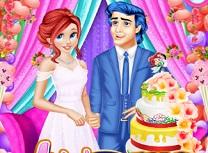 Ariel si Eric Gatest Tort de Nunta