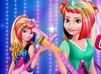Elsa si Anna Rochie Regala Rock