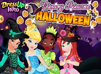 Printesele Disney de Halloween