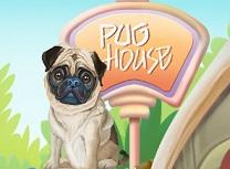 Catelul Pug Decoreaza Casa