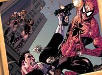 Punisher si Spiderman Puzzle