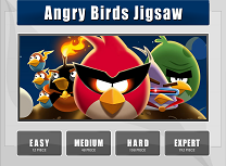 Puzzle cu Angry Birds