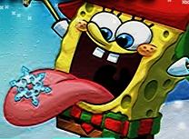 Jigsaw Puzzles cu Spongebob de Craciun