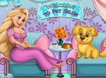 Bebelusa Rapunzel Adopta Un Animal