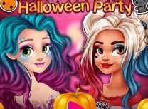Rapunzel si Moana Petrecere de Halloween