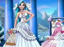 Rapunzel Pregatiri de Petrecerea de Iarna