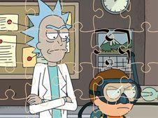 Rick si Morty Jigsaw