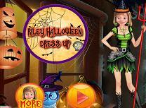 Riley de Halloween