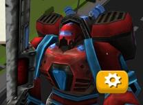 Robotul Erou Simulator 3D in Oras