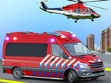 Salvati Oameni cu Ambulanta si Elicopterul
