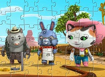 Seriful Callie Puzzle cu Prietenii