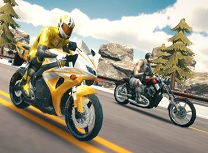 Simulator de Motociclete pe Autostrada
