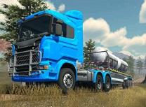 Simulator de Camioane Trailer Offroad
