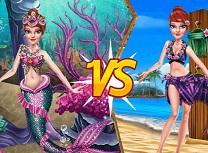Outfit de Printesa vs Sirena