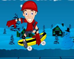 Skateboard Iarna