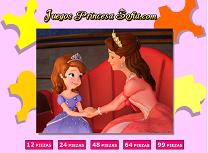 Sofia si Regina Puzzle