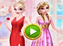 Sora Frozen Stil Fashion cu Trandafir