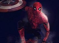Spiderman si Scutul lui Capitanul America