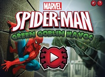 Spiderman vs Spiridusul Verde