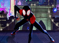 Spiderman into Spiderverse Masked