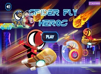 Spiderman Supereroi Zburatori