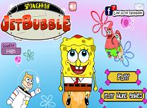 Spongebob cu Jetpack