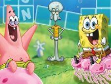 Spongebob Cuvinte pe Cuburi