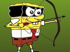 Spongebob Impusca Zombie