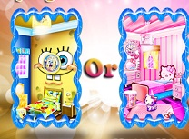 Spongebob sau Hello Kitty