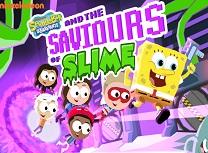 Spongebob Squarepants si Salvatorii de Slime