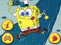Spongebob Merge la Munca
