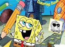 Spongebob Carte de Colorat