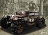 Cursa cu Camioane Steampunk