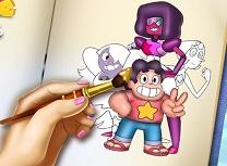 Steven Universe Carte de Colorat