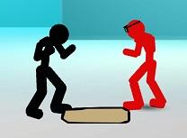Stickman Lupte de Strada 3D