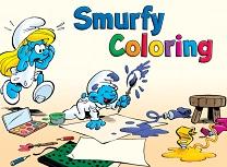 Strumfi de Colorat