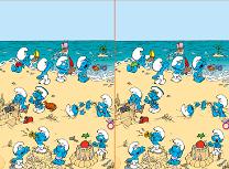 Strumfi la Plaja Diferente