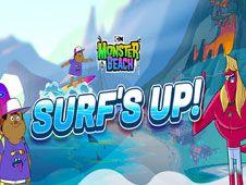 Surfing pe Plaja Monstrilor