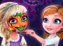 Surori Frozen Arta de Fata de Halloween