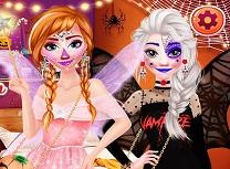 Surori Frozen Petrecere de Halloween